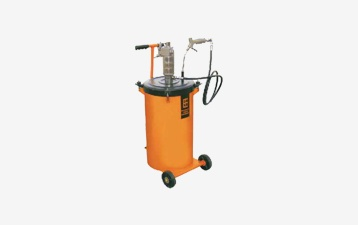 air operated grease filling system